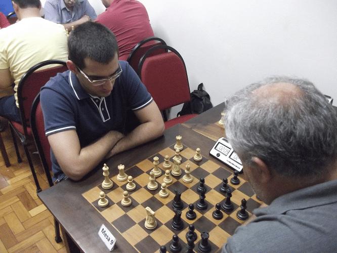 2ª rodada - Mário Bisneto perdeu de Paulo Paiva - Outra visão da mesma partida