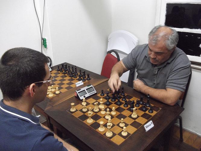 2ª rodada - Mário Bisneto perdeu de Paulo Paiva