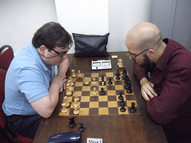 2ª rodada - Marcelo Einhorn venceu Renato Werner