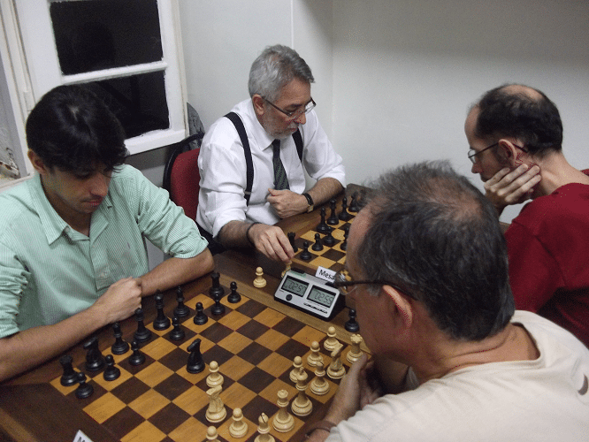 4ª rodada - Diógenes Labre vs Frederico Argolo 0-1 - Marlen Moura vs Marcos Dias 0-1