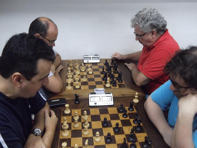 4ª rodada - Luís Estevão Soares vs Marcelo Einhorn 0-1 - Sérgio Patrício vs Álvaro Frota 0-1