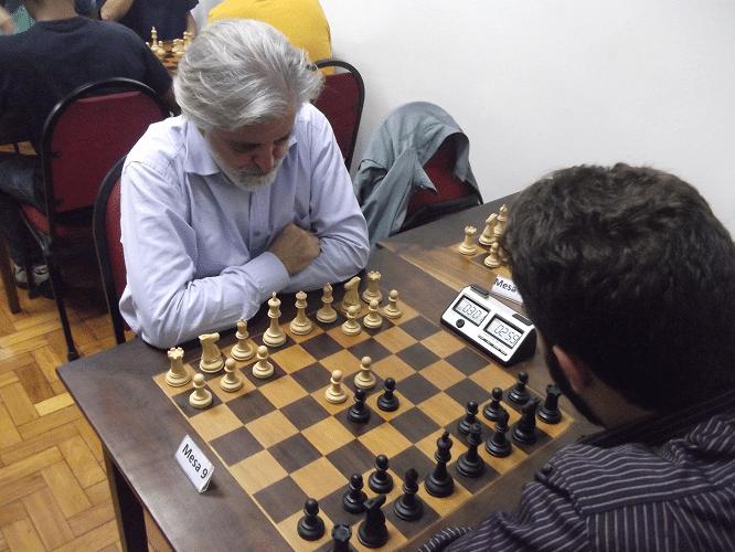4ª rodada - Luiz Alberto da Luz vs Micael Nascimento 1-0