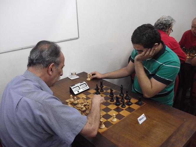 5ª rodada - Juarez Lima perdeu de Iago Henrique Souza