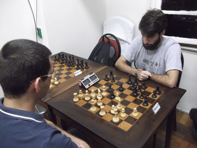 5ª rodada - Mário Bisneto perdeu de Márcio Perdigão