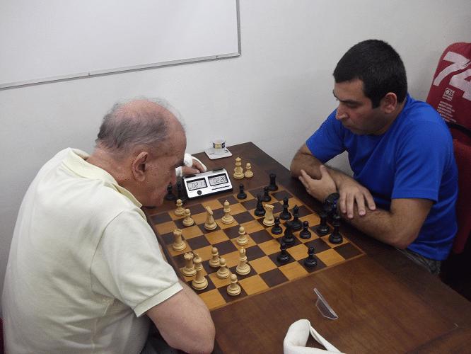 6ª rodada - Carlos Alves Rolim ganhou de Paulo Adriano Matozo