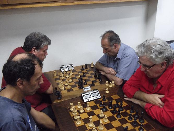6ª rodada - José Luís Chauca ganhou de Álvaro Frota e Sérgio Murilo perdeu de Juarez Lima
