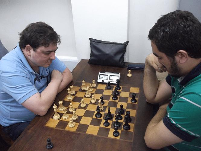 6ª rodada - Marcelo Einhorn perdeu de Iago Henrique Souza