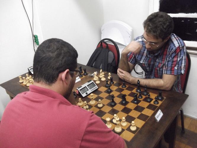 6ª rodada - Rodrigo Alves Vieira perdeu de Micael Nascimento
