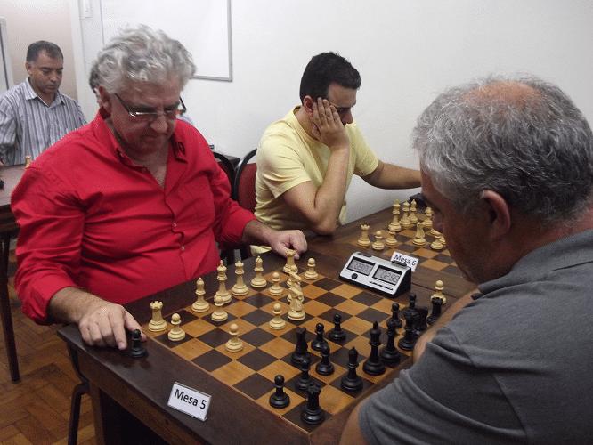7ª rodada - Álvaro Frota ganhou de Paulo Paiva e Estevão Luiz Soares ganhou de Thiago Azevedo