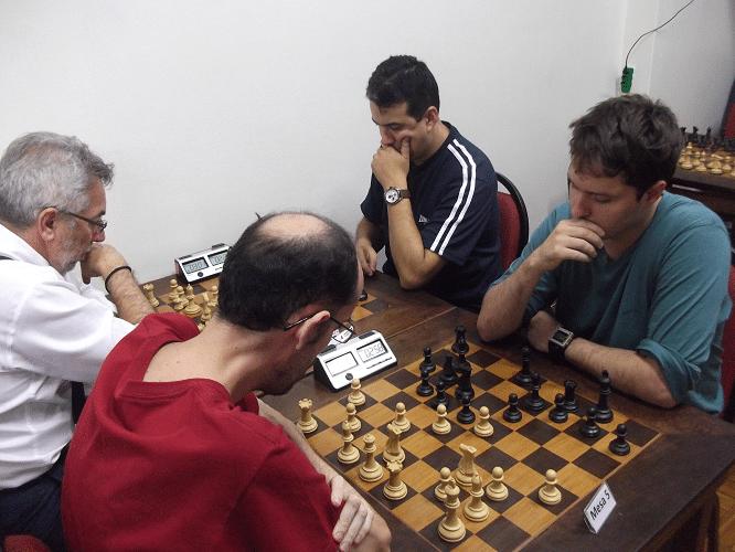 7ª rodada - Marlen Moura vs Leo Ramos Simões 1-0 - Marcos Diaz vs Luís Estevão Soares 1-0