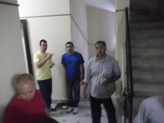 O fotógrafo tremeu de emoção ao registrar a presença de Oscar Weibull, Estevão Luiz Soares, Paulo Adriano Matozo e Marcelo Santos Silva