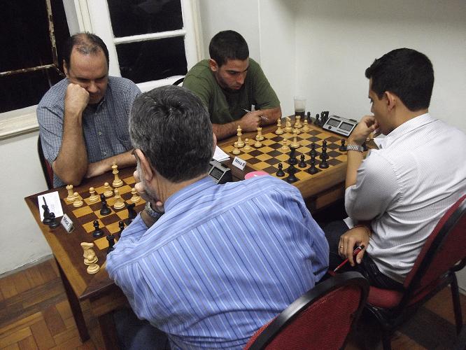 David Rabello vs Luiz Sérgio Tiomno 1-0 e Daniel Faria vs Oscar Solano Rueda 0-1