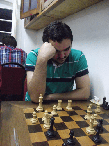 Iago Henrique Souza, rating 2053, federado pelo CXP, fez 7 pontos e ficou na 2ª classificação