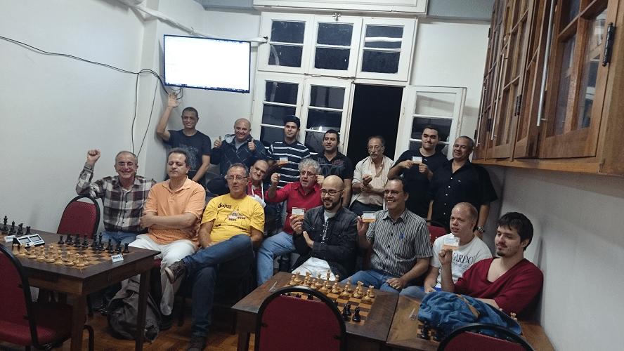 Premiação - 12 - A Foto Histórica foi tirada e ... Fim! Mais um torneio da ALEX que foi um sucesso!