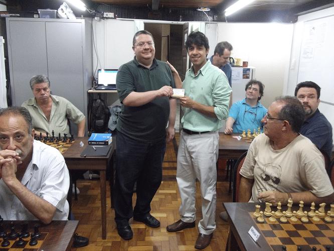 Premiação - Frederico Argolo recebe Mini Diploma Campeão Interno Verão