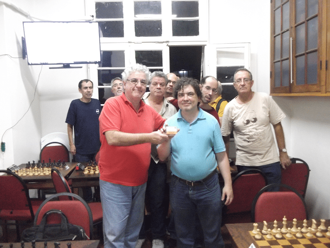 Premiação - Marcelo Einhorn recebe Mini Diploma Vice Campeão