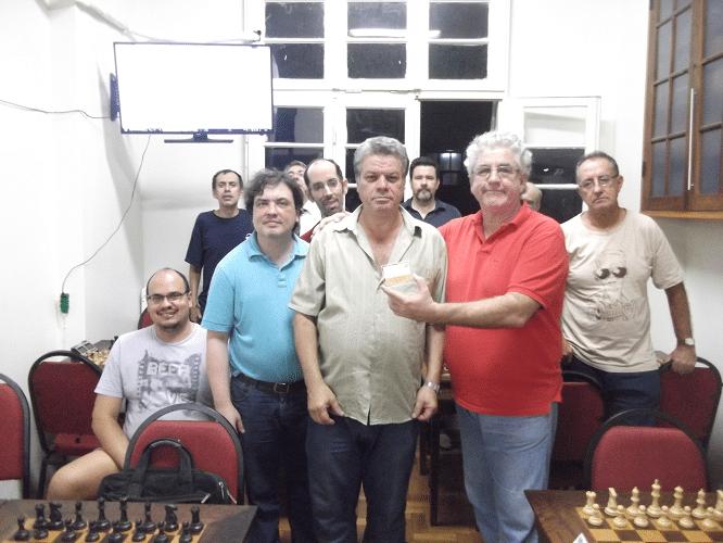 Premiação - Sérgio Murilo recebe Mini Diploma Campeão