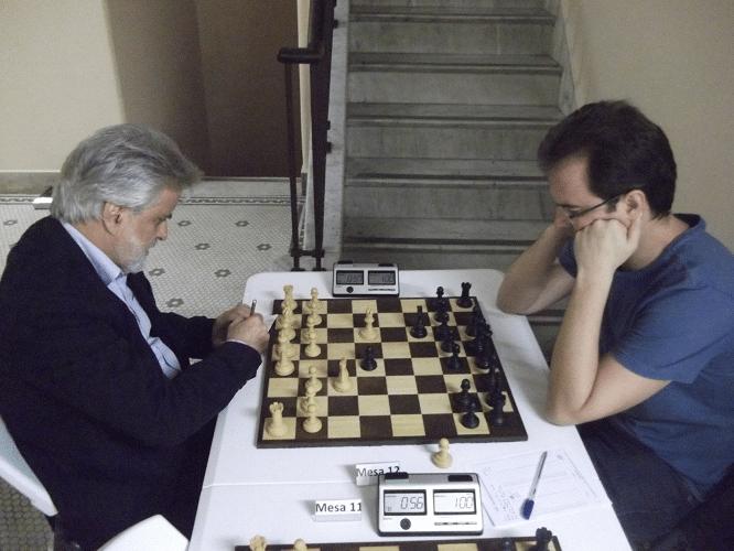 Luiz Alberto da Luz perdeu de Antonio Marcos Piñón Rial