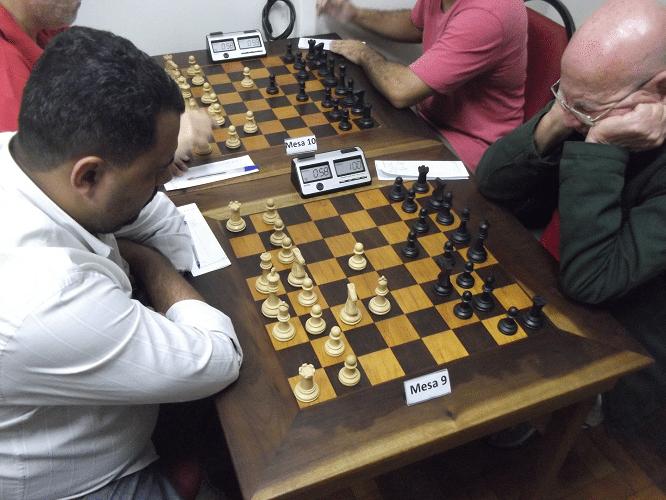 Carlos Henrique Luz da Costa e Irahy Ribeiro de Carvalho empataram
