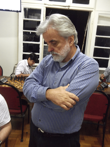 Classificação - Luiz Alberto da Luz, da ALEX, fez 3 pontos e ficou em 16º lugar