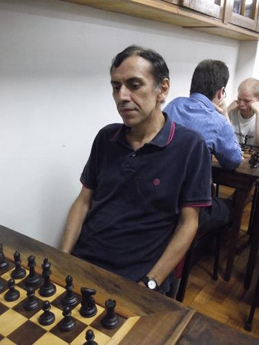 Classificação -  José Luís Chauca fez 5,5 pontos e ficou em 5º lugar, conquistando o Mini Diploma de Campeão Alexano do Trovão de Julho.