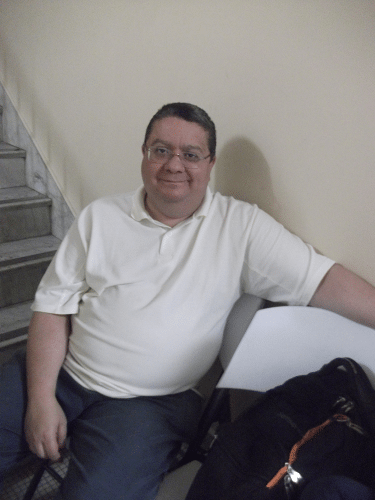 O historiador (do Torneio do Bolo) Bráulio Santos Jr.