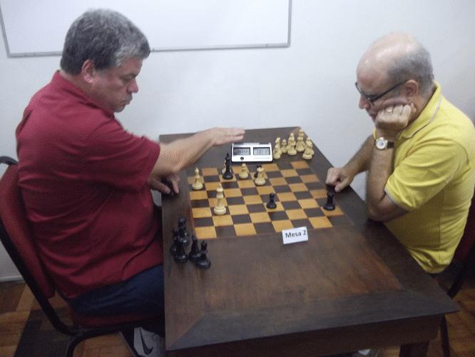 Partidas da 4ª rodada - Sérgio Murilo va José Carlos Mesquita