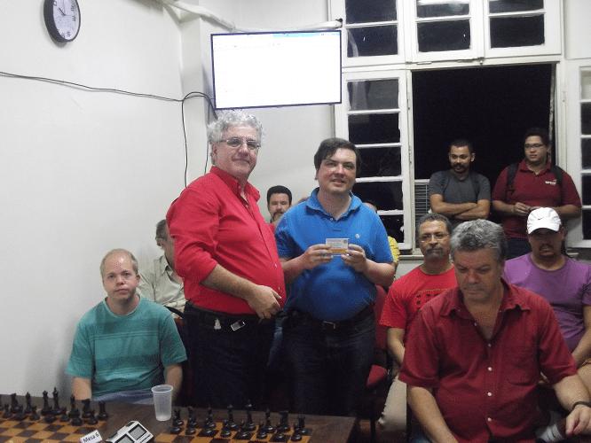 Premiação - Marcelo Einhorn Vice-Campeão do Trovão de Agosto