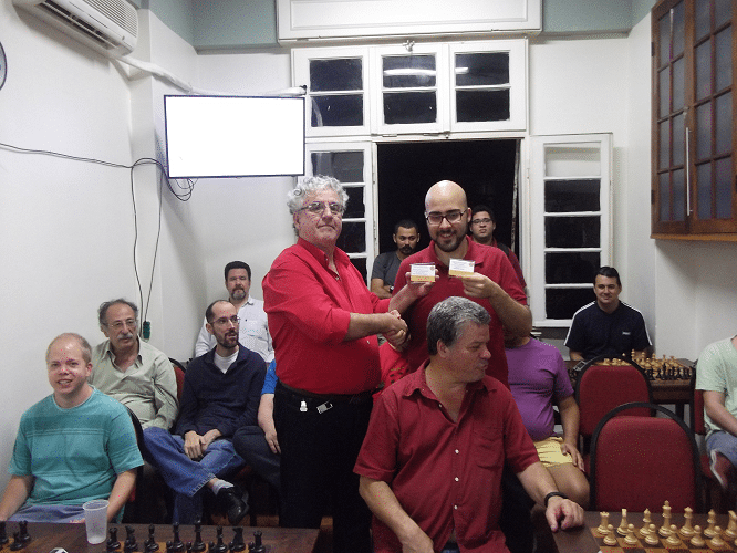 Premiação - Renato Werner Campeão do Rápido de Julho e Vice-Campeão do Trovão de Agosto
