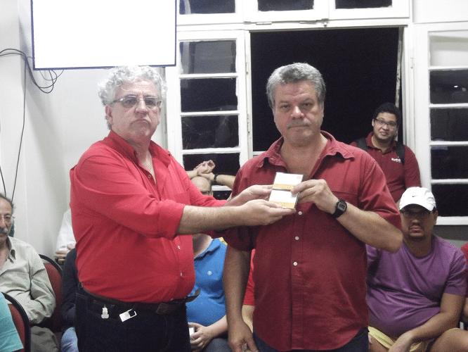 Premiação - Sergio Murilo Campeão