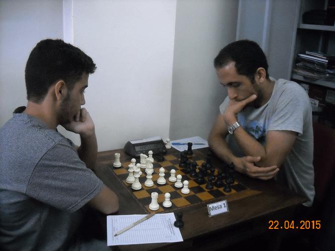 1ª Rodada - Mesa 1 - João Carlos Soares e Ali Khaje Hesamedini