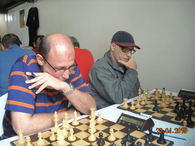 1ª Rodada - Mesa 10 e 11 - Arnaldo Leite Mesquita e José Carlos Mesquita