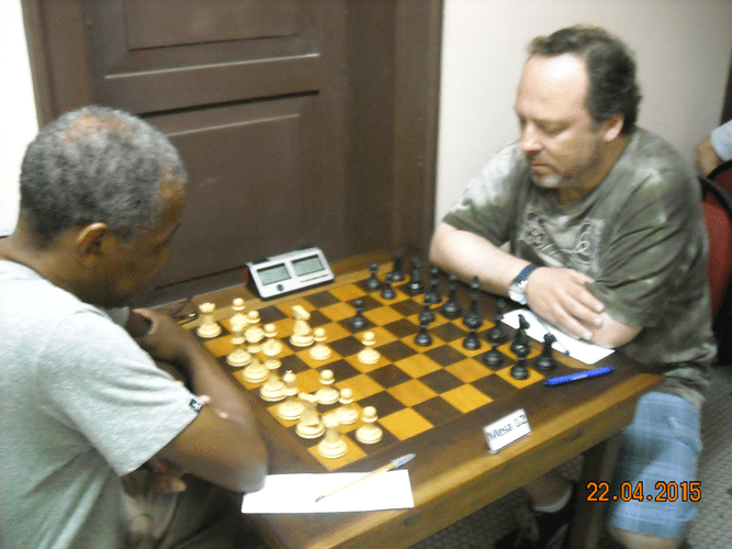 1ª Rodada - Mesa 12 - Wallace Machado e Carlos Evanir
