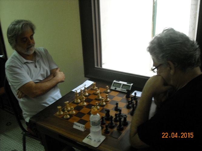 1ª Rodada - Mesa 13 - Luiz Alberto da Luz e Álvaro Frota