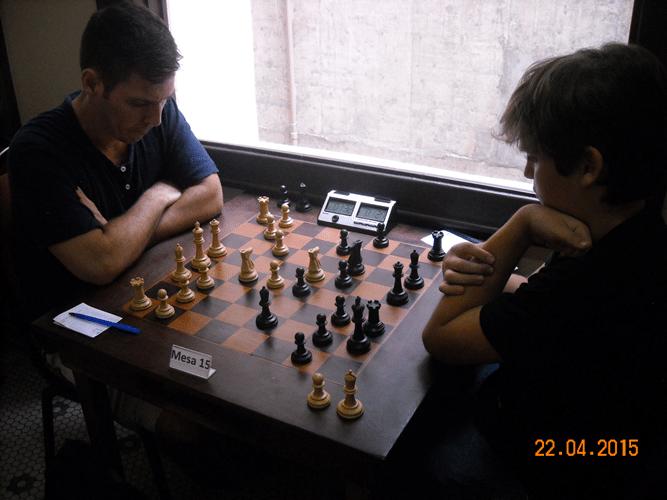 1ª Rodada - Mesa 15 - Cláudio Henrique Leite e Gianluca Jório