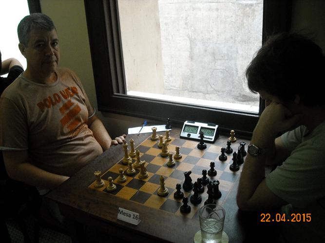 1ª Rodada - Mesa 16 - Jorge Chaves e Leo Ramos Simões