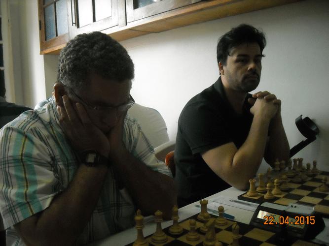 1ª Rodada - Mesa 4 e 5 - Roberto Ferreira de Almeida e Rodrigo Medeiros Zacarias