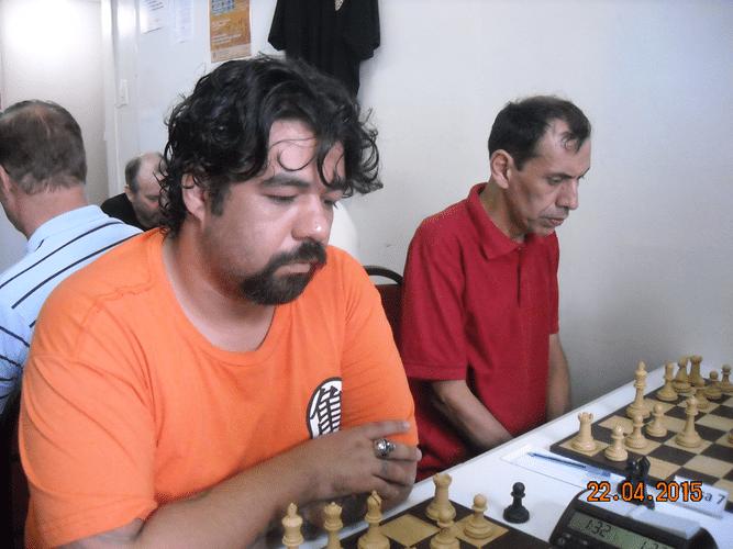 1ª Rodada - Mesa 6 e 7 - Marcos Luciano Pereira e José Luís Chauca