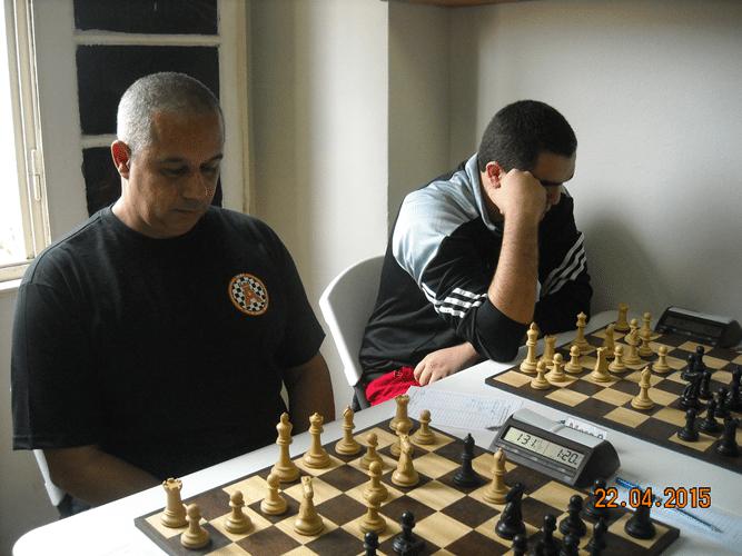 1ª Rodada - Mesa 8 e 9 - Claide Teixeira Barros e Iago Henrique Souza