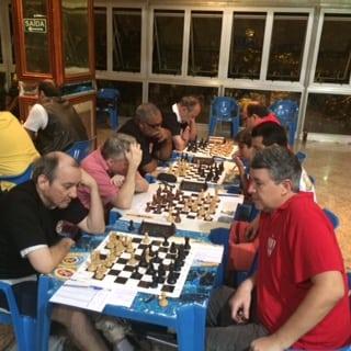 1 Equipe A - Hilton Rios, Eduardo Maia, Nei Jorge Rodrigues e Juarez LIma