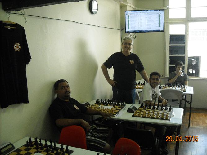 3ª Rodada - Antes do início - Luz da Costa, Álvaro, João e Leo