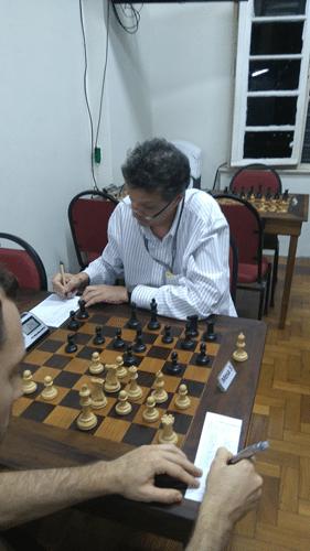 4ª Rodada - Aristides em sua partida contra Eric