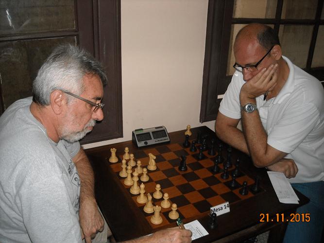 5ª Rodada - Na mesa 14 Marcos Dias perdeu para Arnaldo Leite Mesquita