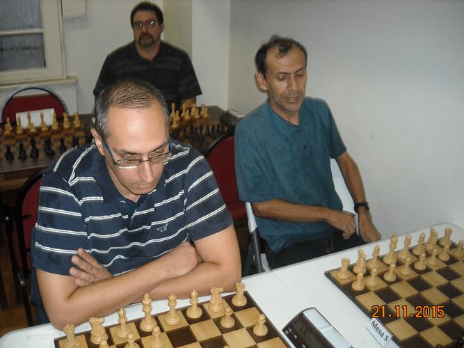 5ª Rodada - Na mesa 5 José Chauca e na mesa 6 Raimondo Bottari