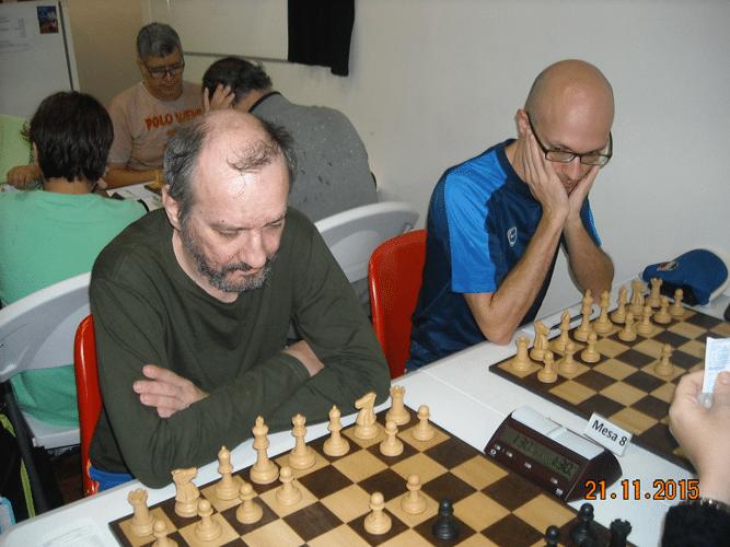 5ª Rodada - Na mesa 7 Hilton Rios e na mesa 8 Francesco Noseda