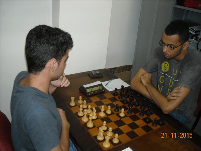 5ª Rodada - Na mesa 9 João Carlos Soares Perdeu para Ricardo Pereira Villalba