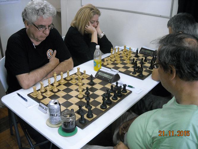 6ª Rodada - Na mesa 10 Álvaro Frota perdeu de Hermann Mathow