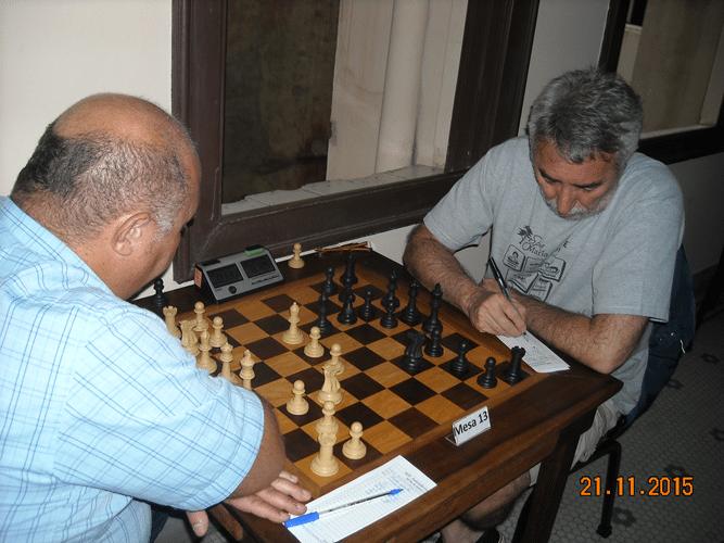 6ª Rodada - Na mesa 13 o tradicional confronto Tarcísio vs Marcos Dias terminou em empate