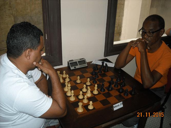6ª Rodada - Na mesa 14 Carlos Henrique da Luz perdeu para Wallace Machado