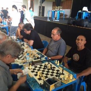 Outra visão da Equipe B2 - Thiago Siqueira de Azevedo, Diógenes Labre, Adérito Picaminho Pimenta e Cláide Teixeira de Barros